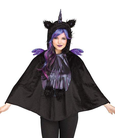 Fun World Dark Unicorn Poncho