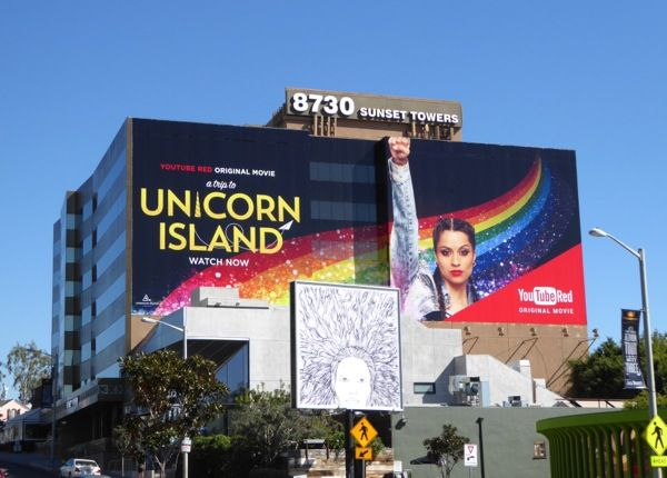 Giant Lilly Singh A Trip To Unicorn Island Youtube Red Movie
