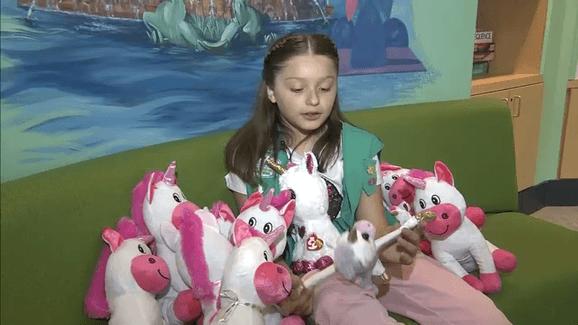Girl Seeks To Brighten Days Of Other Children In Hospitals