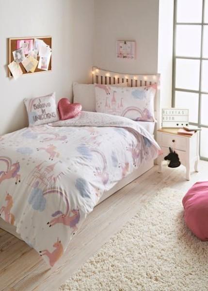 Girls Unicorn Bedroom Collection – Matalan