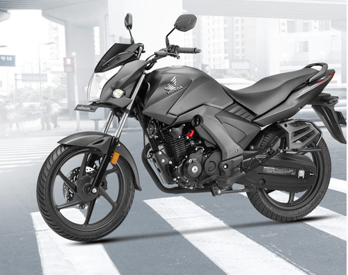 Grey Cb Unicorn 160 Motorcycle, Cb Unicorn 160 Disc