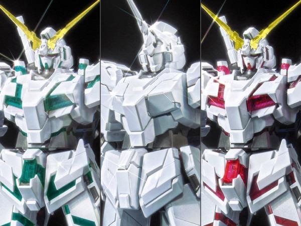 Gundam Mg 1 100 Ms Unicorn Gundam Titanium Finish (red