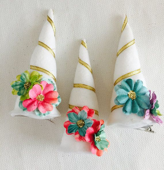 Handmade Unicorn Party Horns Your Guests Will Be Delighted To