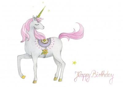 Happy Birthday – Unicorn