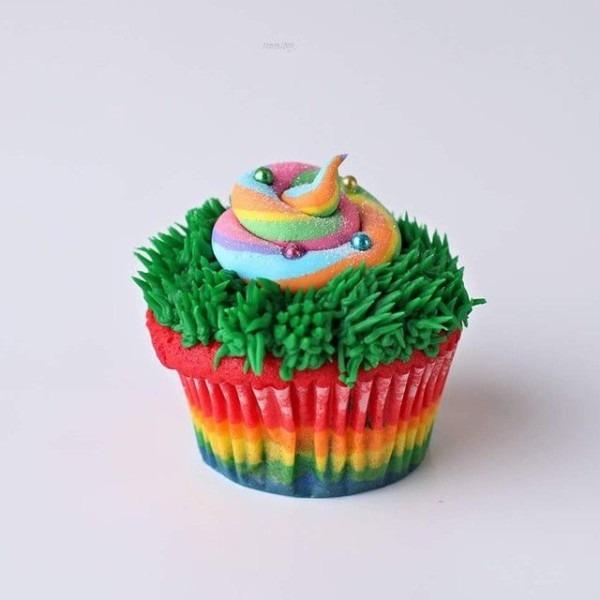 Her Famous Unicorn Poop Cupcake! Nadia's Cakes Of Woodbury