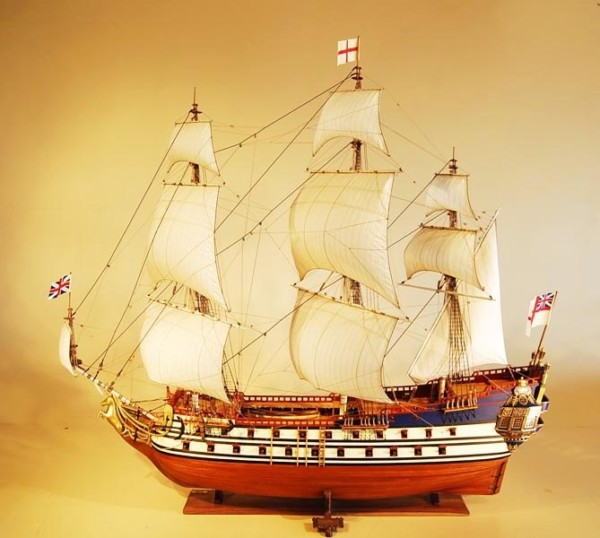 Hms Unicorn Model Ship By Stephens & Kenau Ship Model Builders