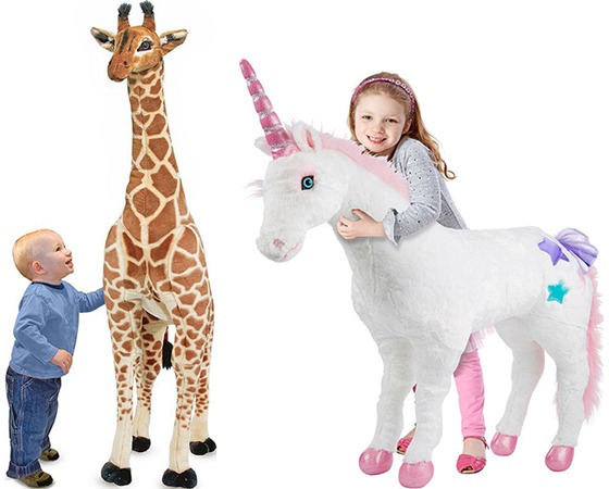 Hot  $38 99 (reg $100) Melissa & Doug Giraffe Or Unicorn + Free