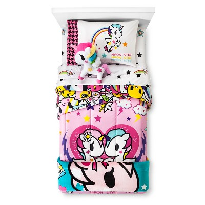 I Love Unicorns Kids Bed Blanket (twin)