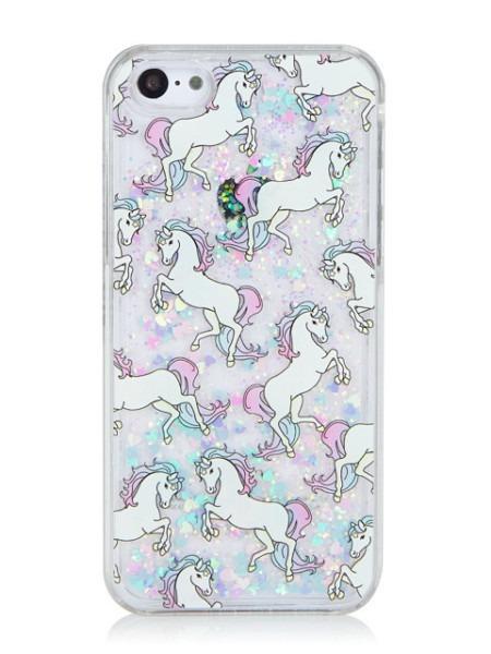 Iphone Unicorn Liquid Case