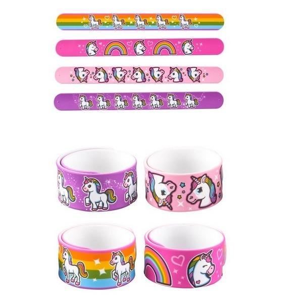 Jr68466 Unicorn Slap Bracelet
