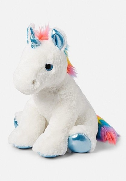 Jumbo Rainbow Unicorn Plush