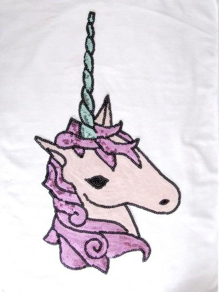 Large Unicorn Patch,sequin Unicorn Applique,purple Unicorn Horse