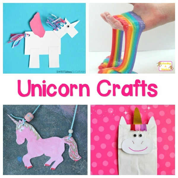 Magical And Colorful Unicorn Crafts And Activities For Kids