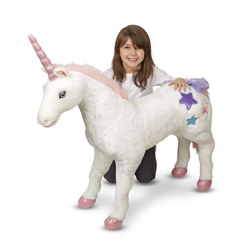 Melissa & Doug Giant Unicorn Stuffed Animal   Target