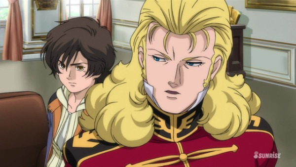 Mobile Suit Gundam Unicorn Re 0096 Episode 6, Under The Mask