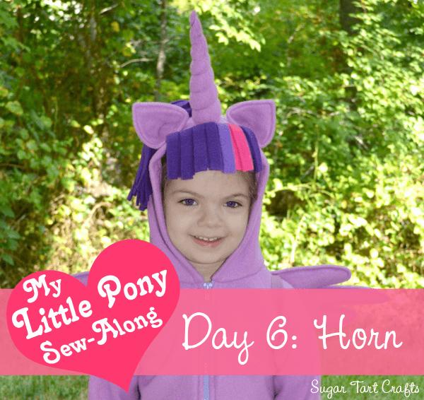 My Little Pony Costume Sew