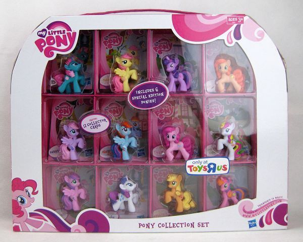 My Little Pony Friendship Is Magic 12 Piece Collectible Set