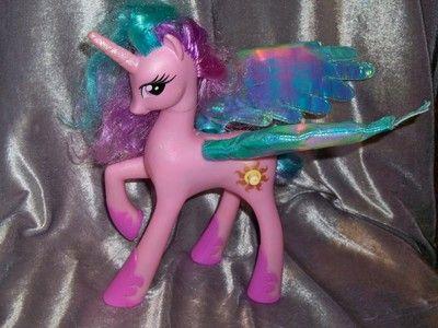 My Little Pony G4 Talking Princess Celestia Unicorn Works Toys R