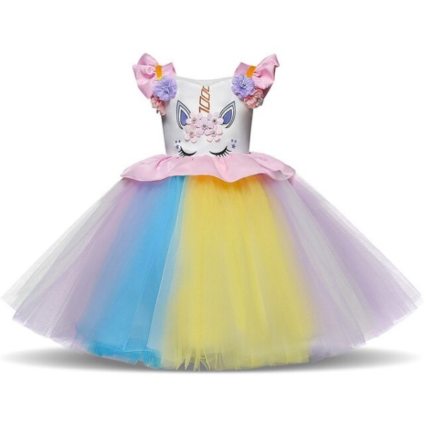My Princess Unicorn Dress For Baby Girl First Birthday Outfits