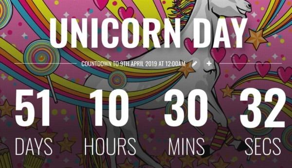 National Unicorn Day 2019