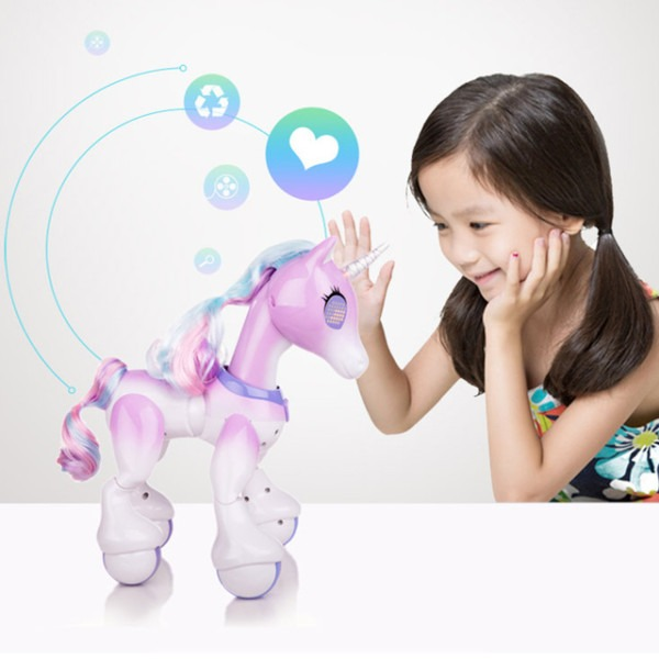 New Robot Touch Electric Smart Horse Remote Control Unicorn