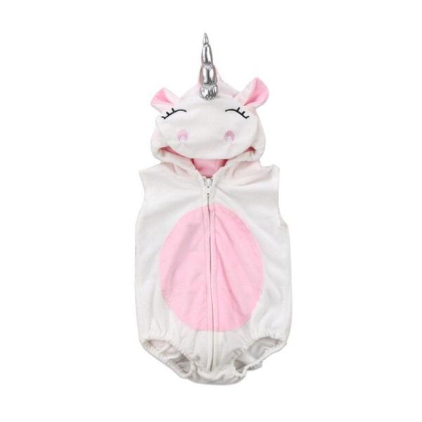 New Unicorn Costume Newborn Baby Girls Unicorn Romper Fleece