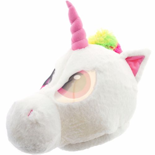New Unicorn Mascot Head Luxurious New Adult Halloween Costume Size
