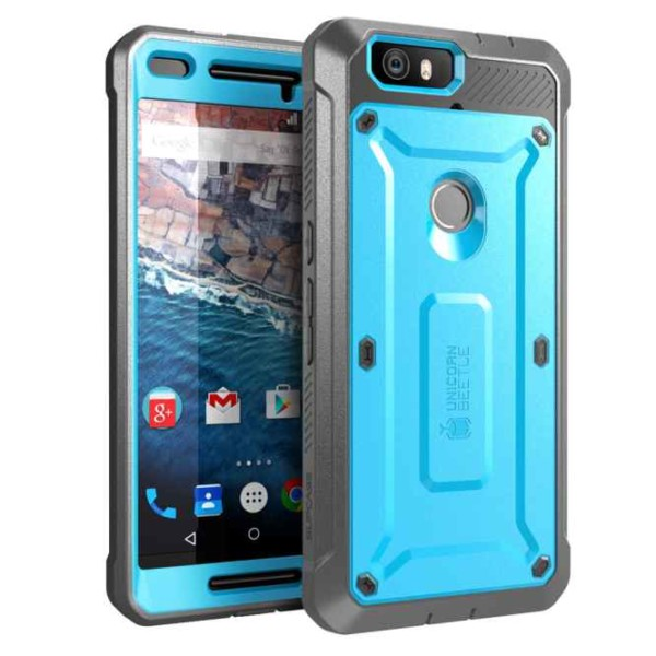 Nexus 6p Unicorn Beetle Pro Full Body Rugged Holster Case With