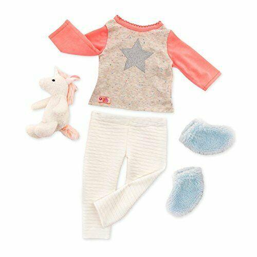 "Our Generation Unicorn Wishes Pajamas 18"" Inch Doll Clothing"