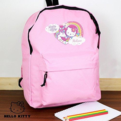 Personalised Hello Kitty Unicorn Pink Backpack, School Bag, Kids