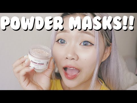Powder Clay Masks! [vanity Planet Masks Review]