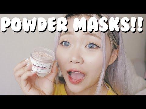 Powder Clay Masks! [vanity Planet Masks Review]