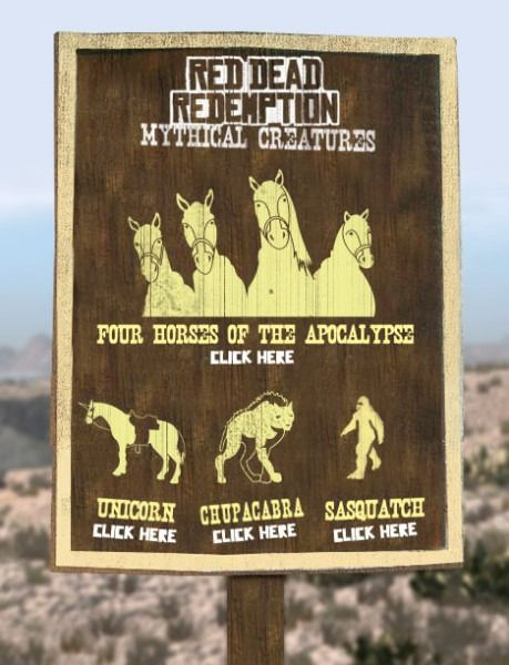 Red Dead Redemption Undead Nightmare Mythical Unicorn Location