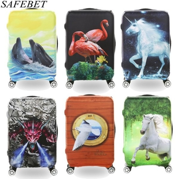 Safebet Brand Travel Essential Elastic Suitcase Protective Cover