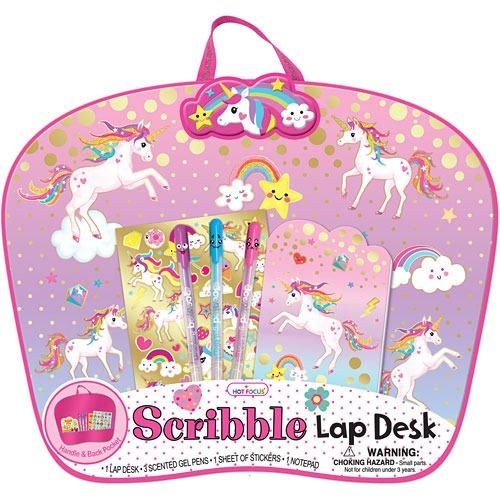 Scribble Lap Desk, Unicorn (new)