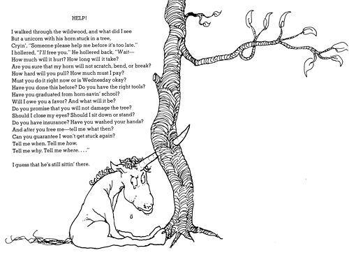 Shel Silverstein Unicorn Poem  Unicorn