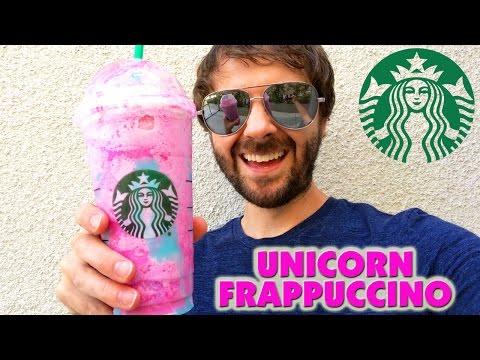 Starbucks Unicorn Frappuccino Review!