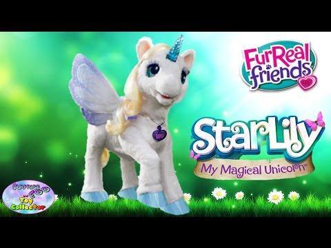 Starlily My Magical Unicorn Furreal Friends Hasbro