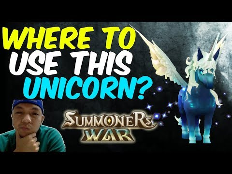 Summoners War  Trying Amelia, The Water Unicorn