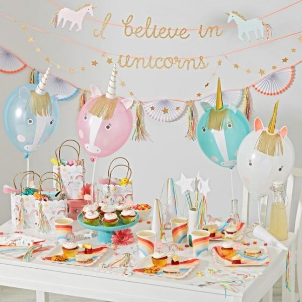 The Land Of Nod Unicorn Party Collection ($6+)  Theme Your Child's