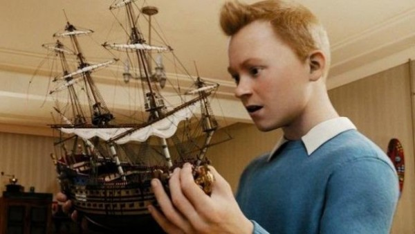 The Model Of The Ship  The Unicorn  Tintin   The Secret Of The