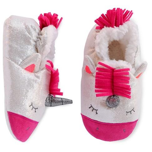Toddler Girls' Unicorn Slipper
