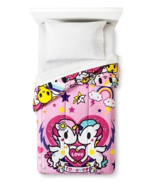 Tokidoki I Love Unicorns Microfiber Twin Comforter For Sale Online