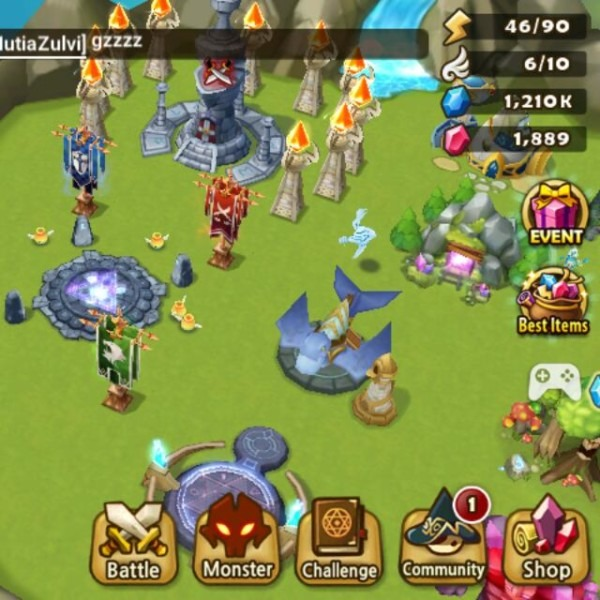 Trading Or Selling Summoners War Account With Lnd Nat5 And Water