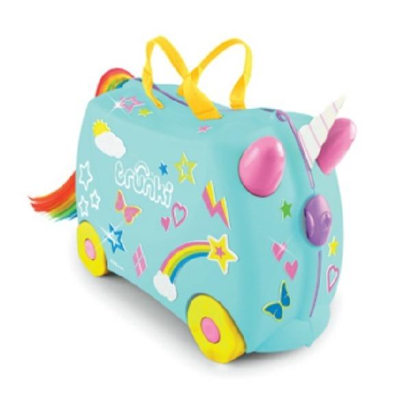 Trunki Kids Ride On Suitcase Una Unicorn
