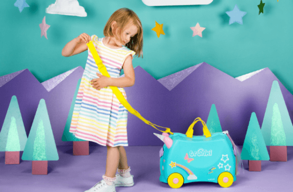 Trunki Unicorn Una  Is This The Most Beautiful Trunki Suitcase