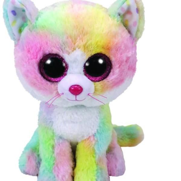 Ty Beanie Boo Rainbow Cat