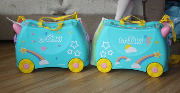 Una The Unicorn Trunki Review & Giveaway • A Moment With Franca