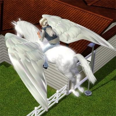 Unicorn And Pegasus By Swedwoman