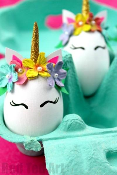 Unicorn Crafts Easter